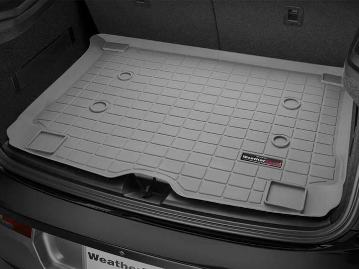 Коврик резиновый WeatherTech BMW I3 2013-2019 в багажник серый