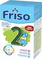 Сухая детская молочная смесь Фрисолак 2 с нуклеотидами от Friso, 700 г