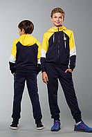 Детский спортивный костюм для мальчиков Ostin Желтый (134-164 см) на весну осень лето