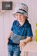 Летняя панамка из хлопка для мальчиков