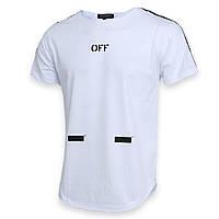 Футболка белый OFF-WHITE №1, лента Ф-11 WHT XL(Р) 18-616-021-002
