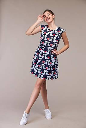 Изящное летнее платье, размер от 42 до 48, фото 2