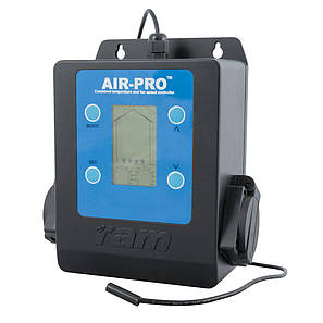 Інтелектуальний  регулятор швидкості обертання вентилятора і температури RAM AIR-PRO II, фото 2
