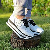 Женские кожаные кроссовки (Размеры в наличии 36,37,38,39,40,41)