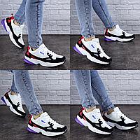 Женские кроссовки летние белые Irv 1889  эко - замша сетка  Размер 37 - 23,5 см по стельке, обувь женская