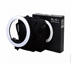 Кільцева світлодіодна лампа зі штативом. RL-12 ll, діаметр 34.5 див.