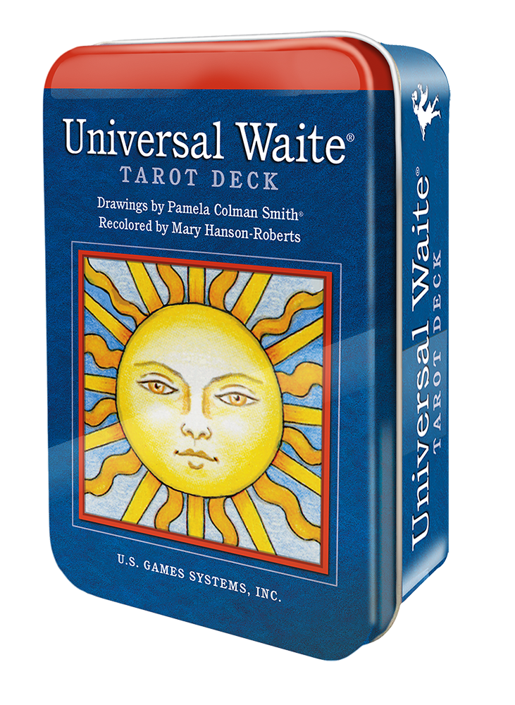 Universal Waite Tarot Deck in a Tin/ Универсальное Таро Уэйта