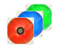 Вентилятор ID-Cooling XF-12025-RGB-TRIO Snow (3pcs Pack), 120x120x25мм, 4-pin PWM, белый