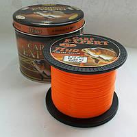Леска Carp Expert Fluo Orange 1000 метров 0.35 мм 14.9 кг