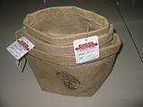 Подарочная упаковка из мешковины, 11,5 х 20 см, Упаковка из мешковины, Днепропетровск, фото 4