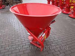 Розкидач міндобрив 500 кг метал Італія
