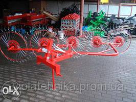 Грабарка 4 колеса Wirax та Bomet Польща