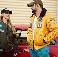 Top Gun Eagle CW45 Jacket, желтый