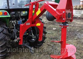 Бур садовий тракторный (свердло 250+500) Wirax Польща