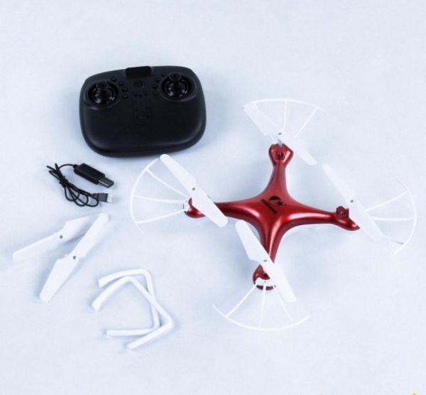 Квадрокоптер на пульті управління CX - 54 W гіроскоп, камера 2МП, батарея 3.6 v, wi-fi червоний