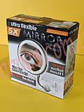 Дзеркало для макіяжу 5x Ultra Flexible Mirror (HH-077), фото 2