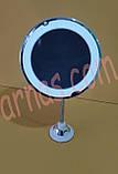 Дзеркало для макіяжу 5x Ultra Flexible Mirror (HH-077), фото 7