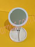 Зеркало для макияжа FoldAway Mirror (HH-066), фото 3