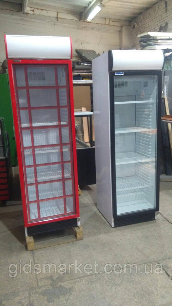 Холодильный шкаф Klimasan Д 372 SC , холодильник стеклянный