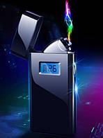 Электроимпульсная зажигалка в подарочной коробке Lighter (USB) №5005