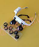 Бинокуляр очки бинокулярные со светодиодной подсветкой 9892GJ-3A, фото 2
