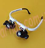 Бинокуляр очки бинокулярные со светодиодной подсветкой 9892H1, фото 2