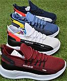 Детские кроссовки Nike Air бордовые р31-36, копия, фото 2