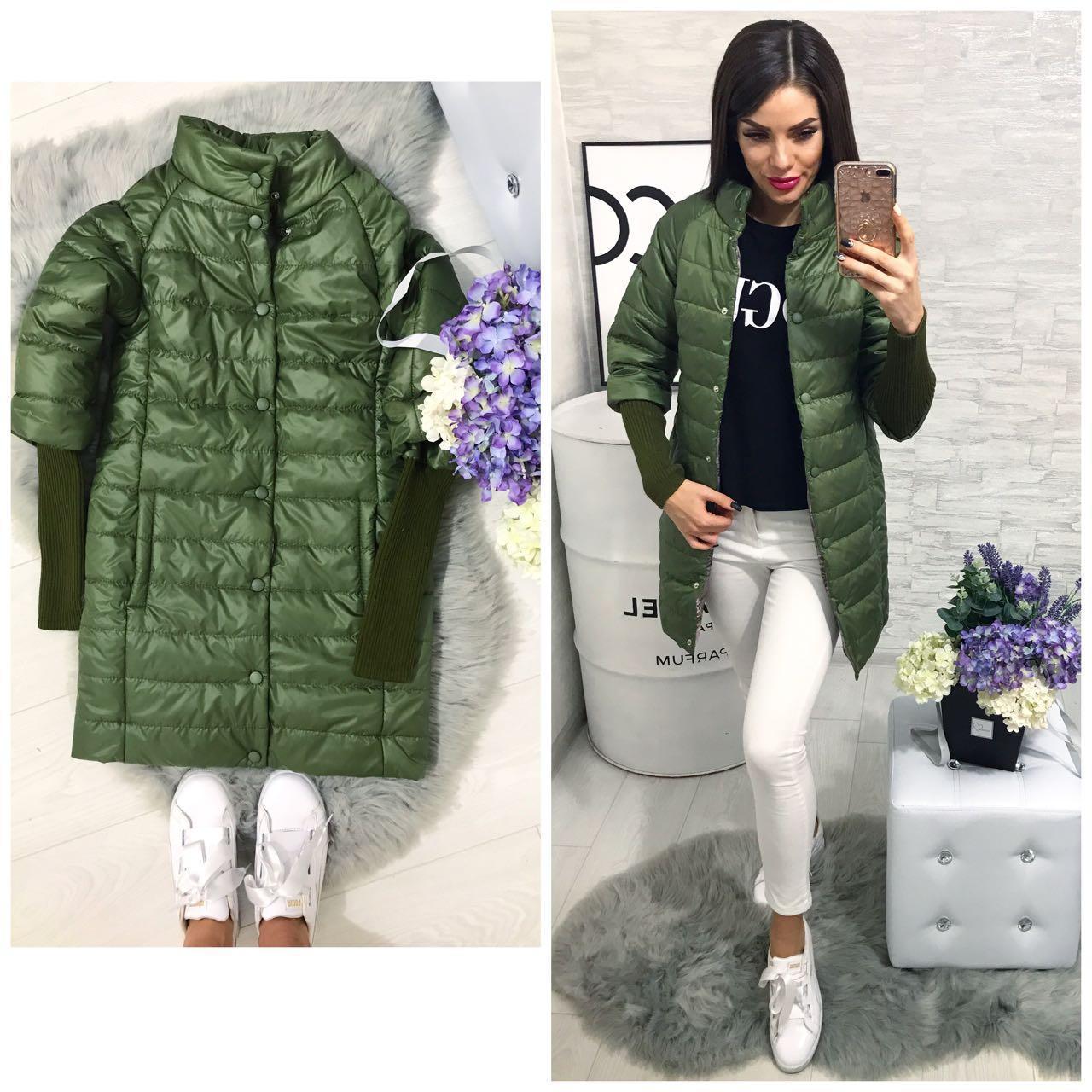 Куртка зимняя  модель 205/2, хаки