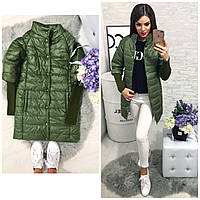 Куртка зимняя  модель 205/2, хаки, фото 1