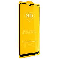 Cтекло 9D Xiaomi Redmi 7, черное защитное