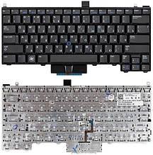 Клавіатура для ноутбука Dell Latitude E4310 E4300 з трекпадом, з підсвічуванням чорна 0JNWX1 БУ