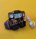 Аккумуляторный налобный фонарь Sensor Rechargeable Headlamp ST-0961, фото 2