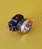 Аккумуляторный налобный фонарь 2W Led GG-5128A, фото 3