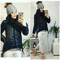 Куртка-парка женская, модель  210, черный, фото 1