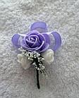 Бутоньєрки у фіолетовому кольорі, фото 2