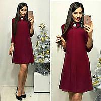 Сукня жіноча, модель 770, бордовий, фото 1