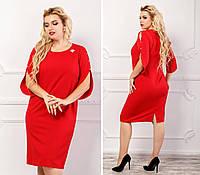 Платье арт. 130 цвет красный, фото 1