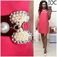Платье нарядное (747/2)розовое