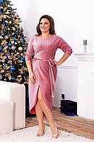 Сукня люрекс арт. 823 ніжна фуксія, фото 1