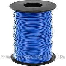 Тросв ПВХ оплётке, канат в оболочке 3 мм. (3/4), (синий)