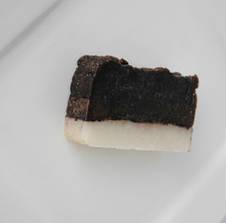 Ніжне мило з баттером какао та олією мигдалю ручної роботи 70г, фото 2