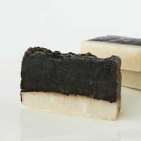 Ніжне мило з баттером какао та олією мигдалю ручної роботи 70г, фото 1