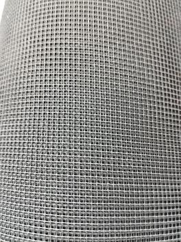 Москитная сетка Евро (серая) ПВХ 1.4х30