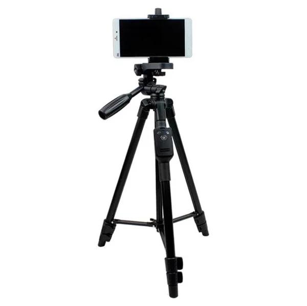 Штатив трипод с пультом ДУ для камеры и телефонаVDT 5208