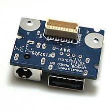 НОВАЯ USB плата, разъем питания для ноутбука LENOVO G480 G485 ( 55.4XA03.001G ) LG4858, фото 2