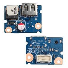НОВАЯ USB плата, разъем питания для ноутбука LENOVO G480 G485 ( 55.4XA03.001G ) LG4858, фото 3