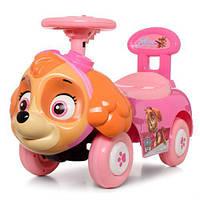 Каталка- толокар детская 6567 розовая