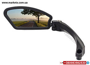 Зеркало заднего вида Hafny на велосипед велосипедное зеркало левое Модель HF-MR080L, фото 2