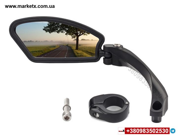 Зеркало заднего вида Hafny на велосипед велосипедное зеркало левое Модель HF-MR080L