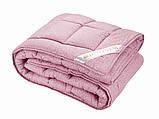 Одеяло 175х210 Двуспальное SAXON Сатиновое Хлопковое Шерстяное Зимнее Теплое Не скатывается, фото 2